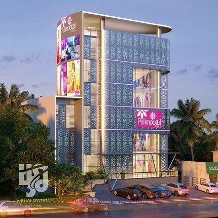 Hs3d Visualization Pvt Ltd Facade Design 3d