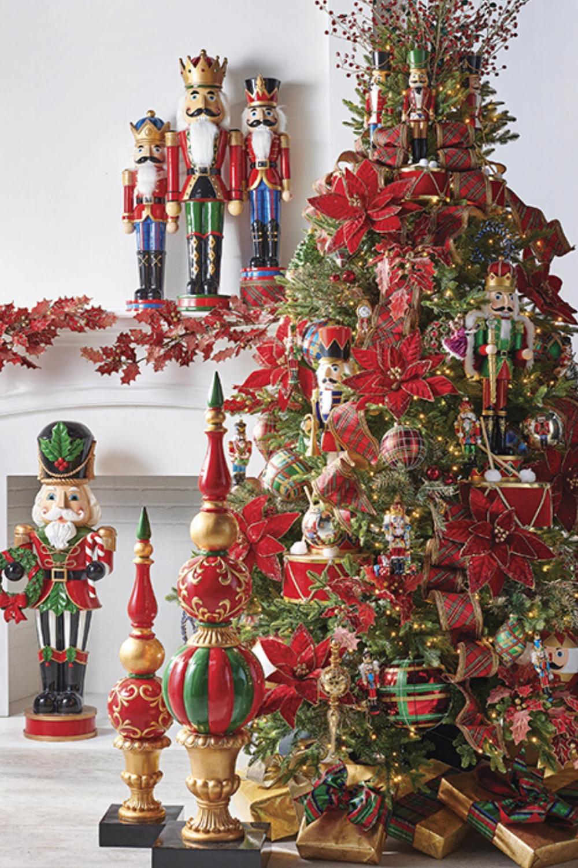 Raz 2020 Trendy Tree Nutcracker Traditions In 2020 Nutcracker Christmas Tree Gold Christmas Tree Decorations Christmas Tree Themes
