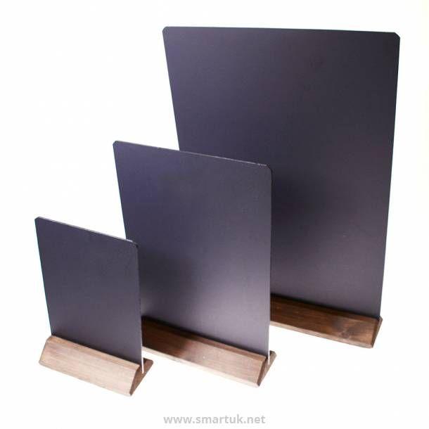 Table Top Chalkboard Menu Board Creative in 2019 Menu