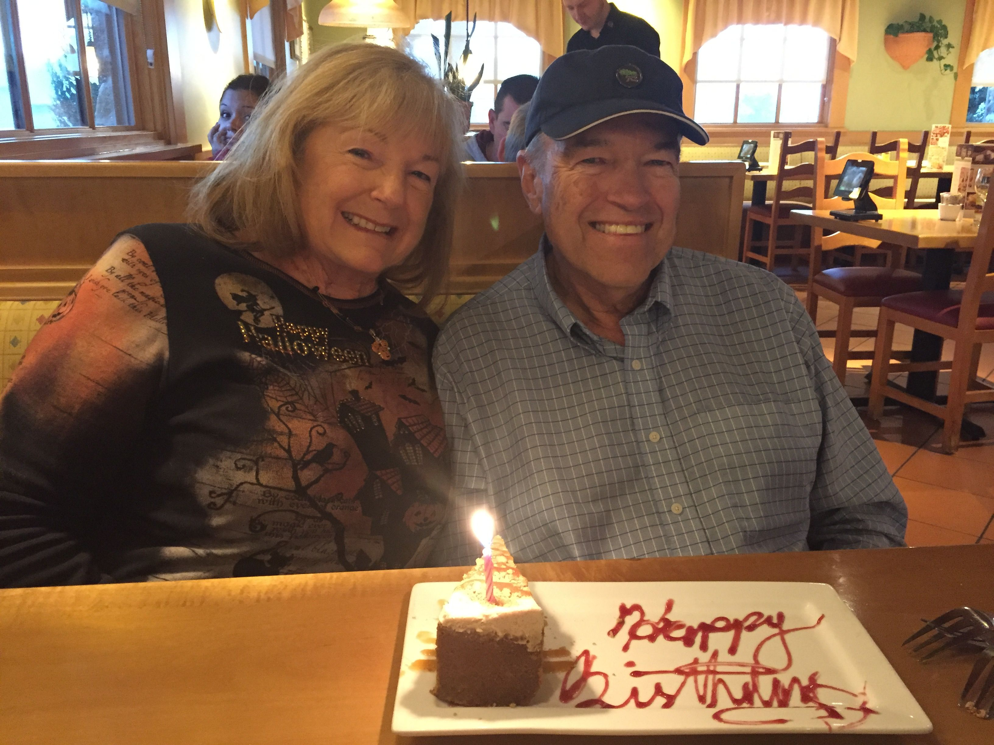 Bill\'s 70th Birthday at Olive Garden in Carson City, Nevada. | 10/30 ...