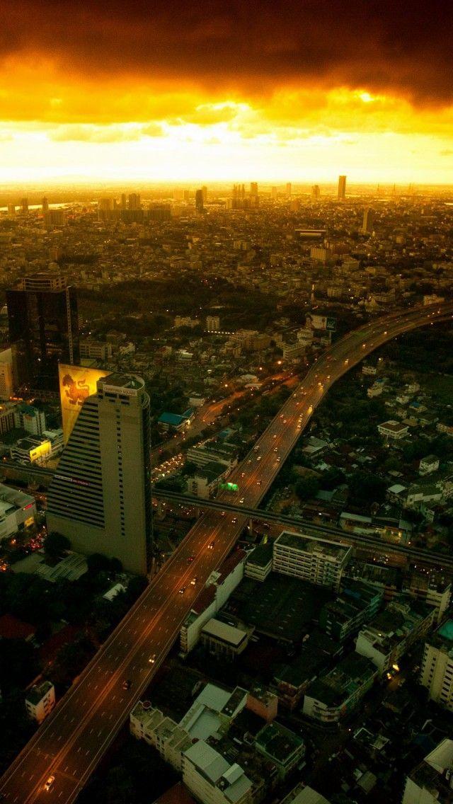#Bangkok, #Thailand. An awesome night view.