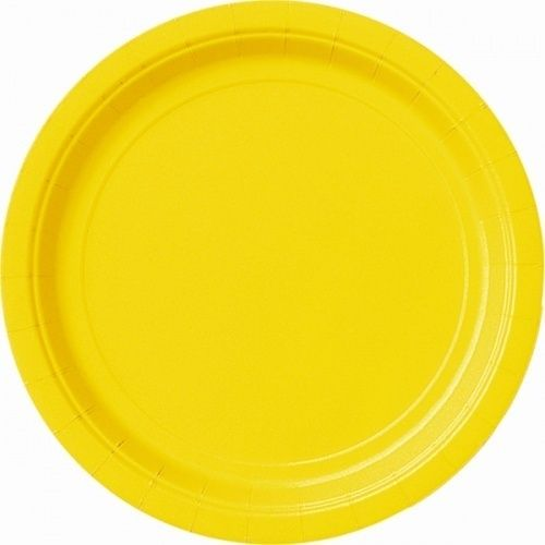 Yellow Round Paper Plates Bulk Pack of 80 9 Inch Diameter  sc 1 st  Pinterest & Yellow Round Paper Plates Bulk Pack of 80 9 Inch Diameter ...