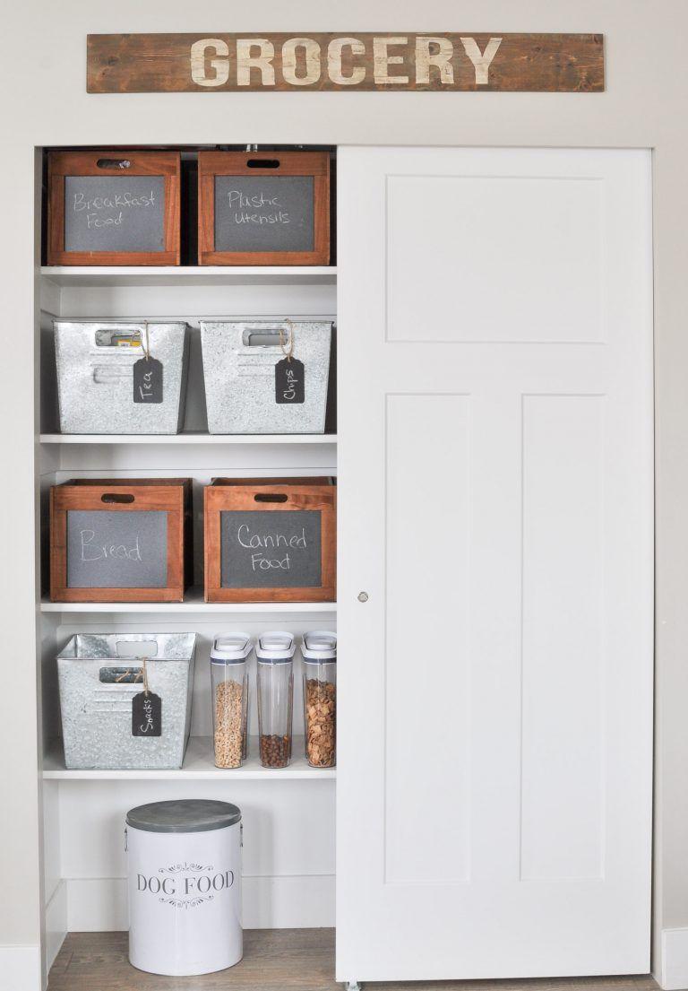 Farmhouse Pantry Organization Tips | New House | Pinterest