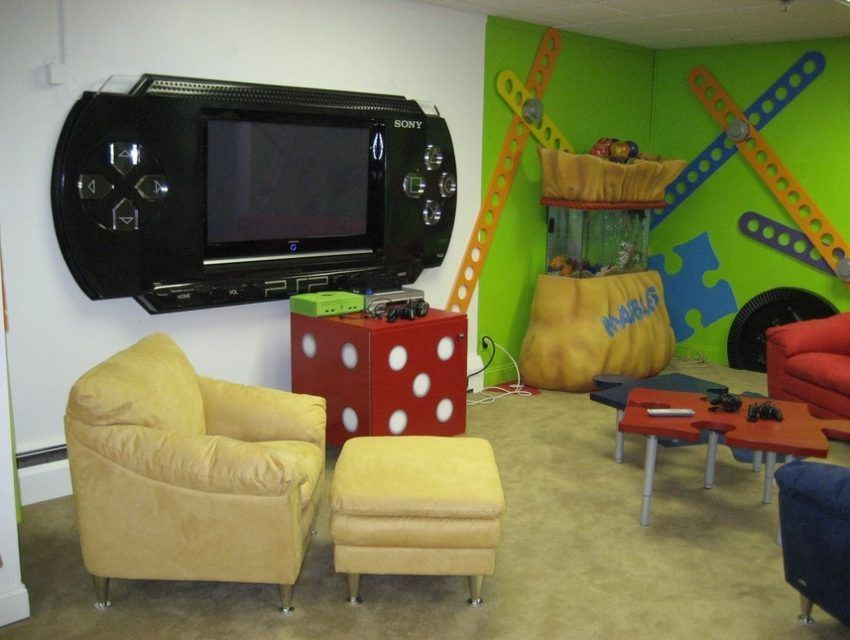 25 Interesting Game Room Ideas For Kids And Family Atahiya Video Game Rooms Video Game Room Game Room Design