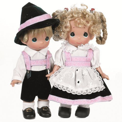 """Black Baby Doll Tattoo: The Doll Maker Germany Baby Doll, Gunther, 9"""" New"""