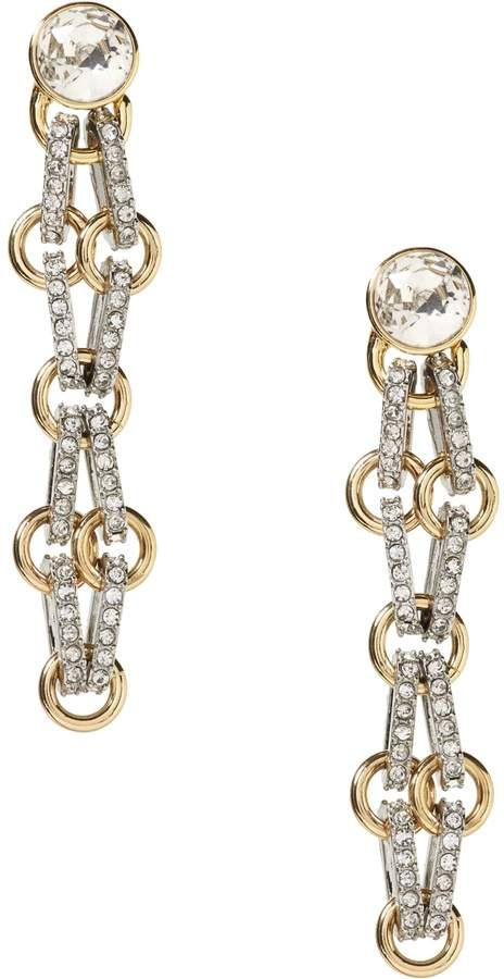 b7ac64602 Banana Republic Pave Mesh Drop Earring | Products