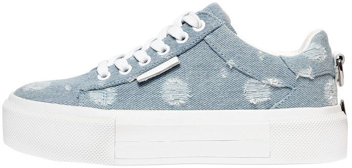 96fe17bf8 Kendall+kylie 45mm Tyler Ripped Denim Sneakers | Kendall + Kylie ...