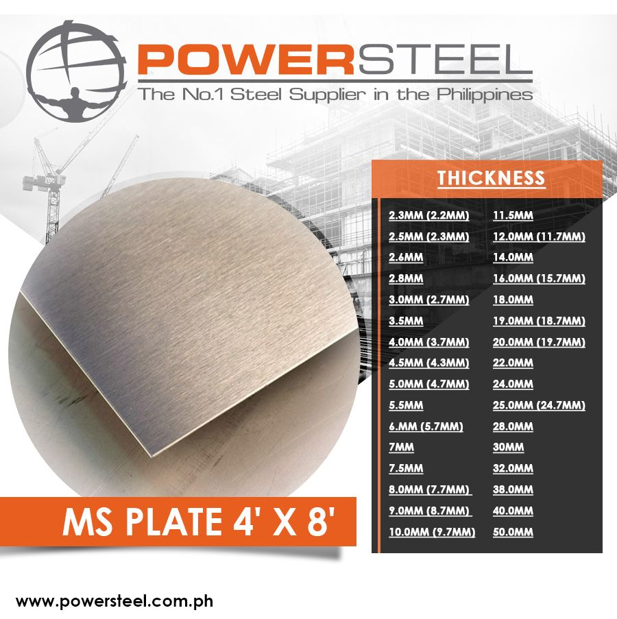 Many Companies Use Ms Plate For Constructions Of Various Infrastructure And Civil Works Housing High Rise Condominiums Steel Steel Plate General Construction