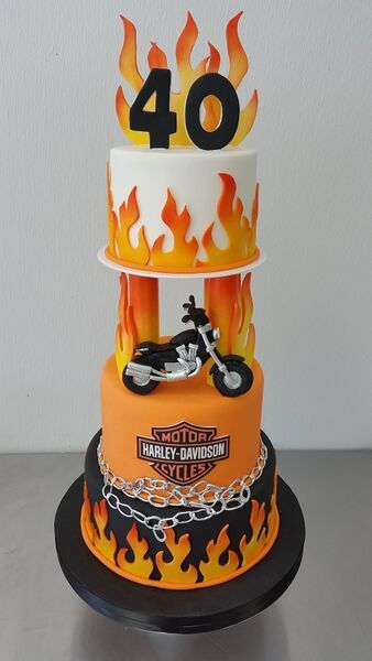harley cake Google Search Awesome Birthday Cakes Pinterest