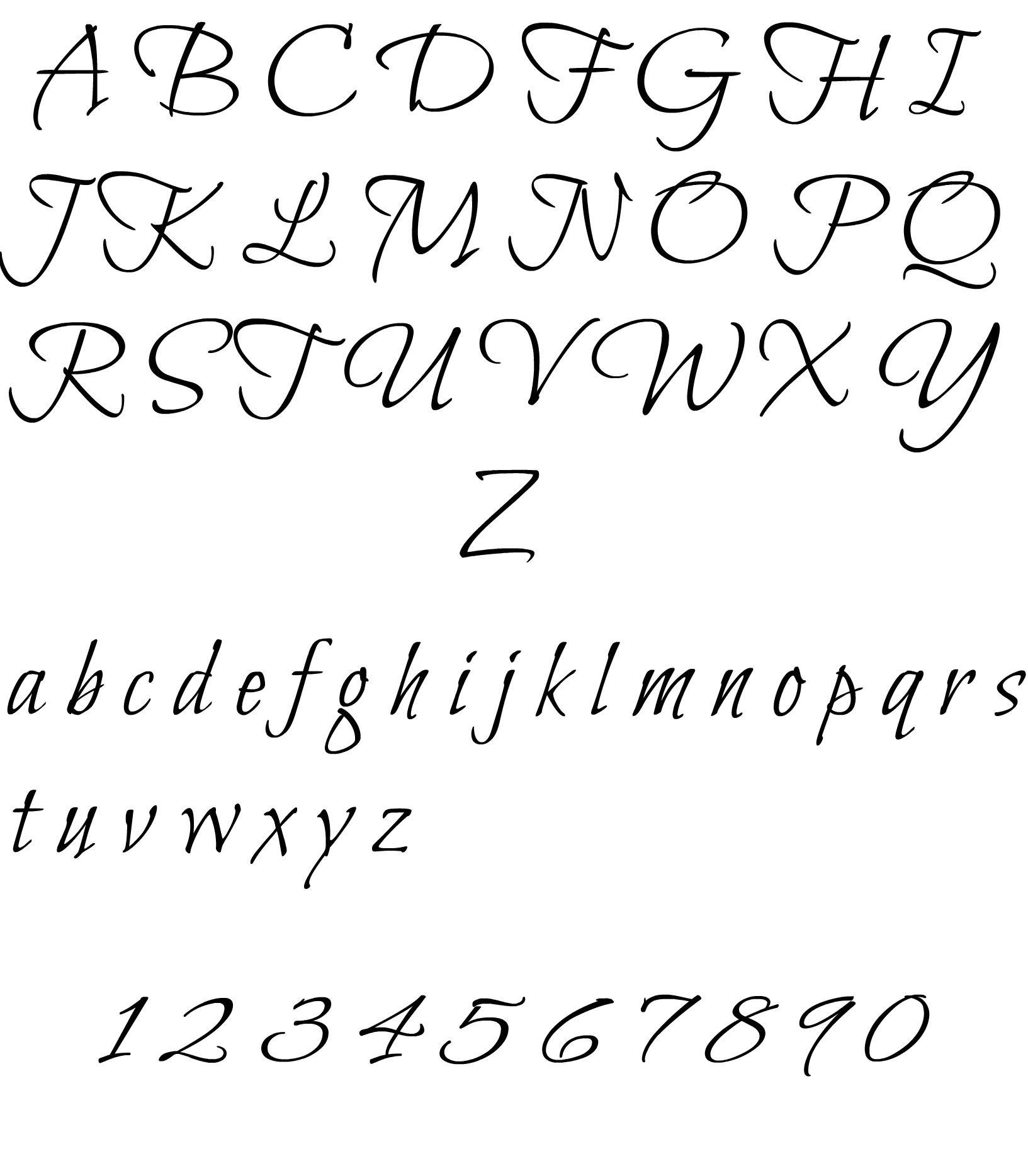 Alfabeto Per Tatuaggi Caratteri Alfabetici Alfabeto Lettere
