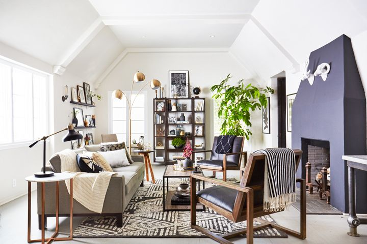 Bold Styling With Safe Neutrals (and Target) | Emily Henderson | Bloglovin