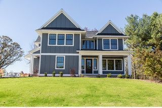Wonderful Volcanic Ash By Olympic: The Willow, A Custom Home By Hanson Homes, Inc.    Farmhouse   Exterior   Grand Rapids   Hanson Homes, Inc.