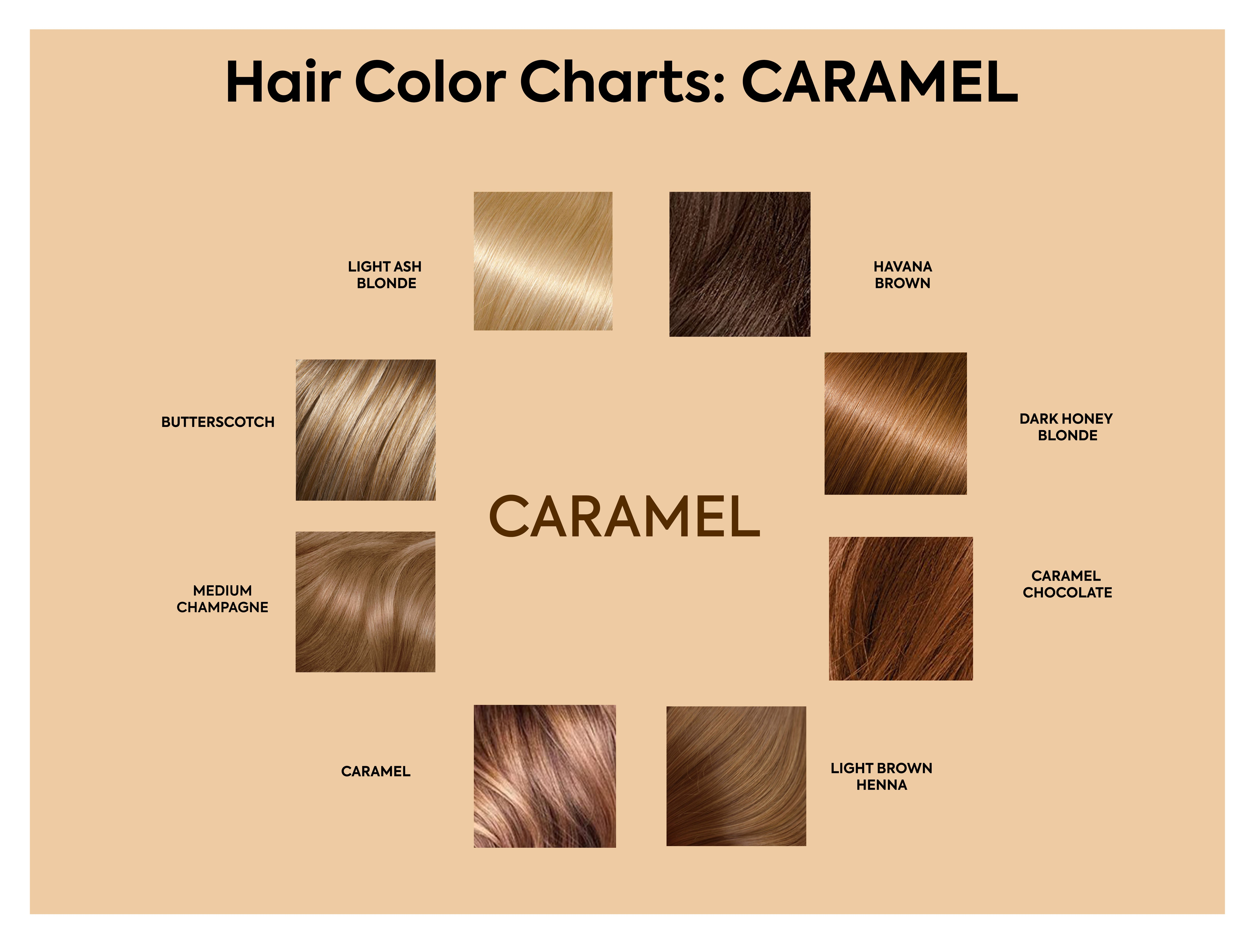 How To Choose The Best Hair Colour From Hair Colour Charts Hair