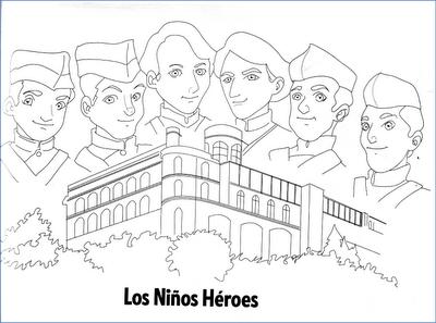 Estupenda Coleccion De Fichas Actividades E Imagenes Para Trabajar Las Efemerides Del Mes De Septiembre Ninos Heroes Para Colorear Los Ninos Heroes Ninos Heroes De Chapultepec