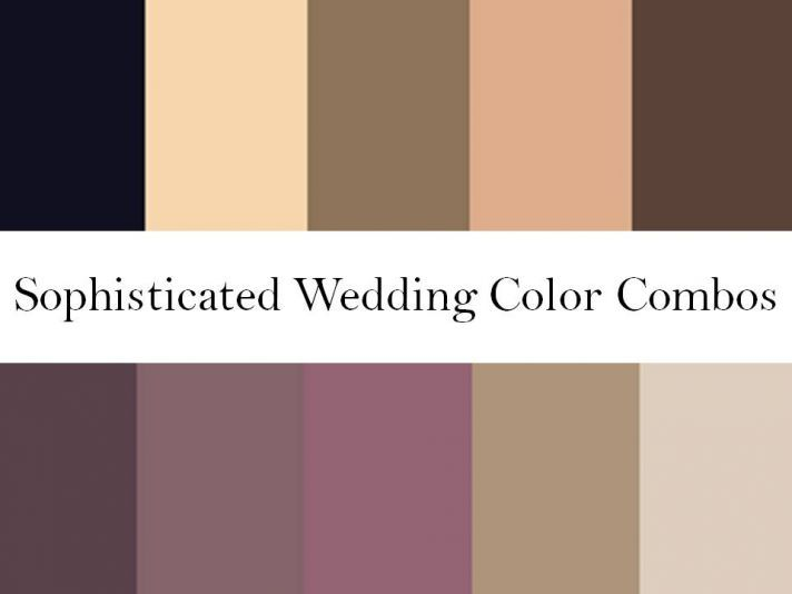 Rich wedding color palettes- blushes, nudes, warm browns, plums -- ooh