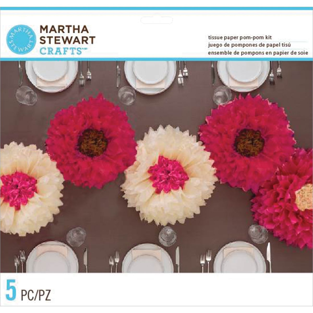 Martha stewart tissue paper pompom kit makes 5chrysanthemum flowers martha stewart tissue paper pompom kit makes 5chrysanthemum flowers deep mightylinksfo