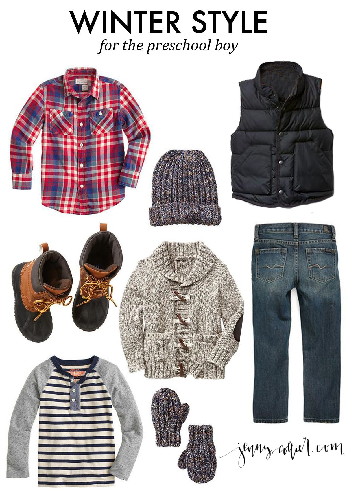 A Round Up Of Winter Fashion For Boys And Girls Including