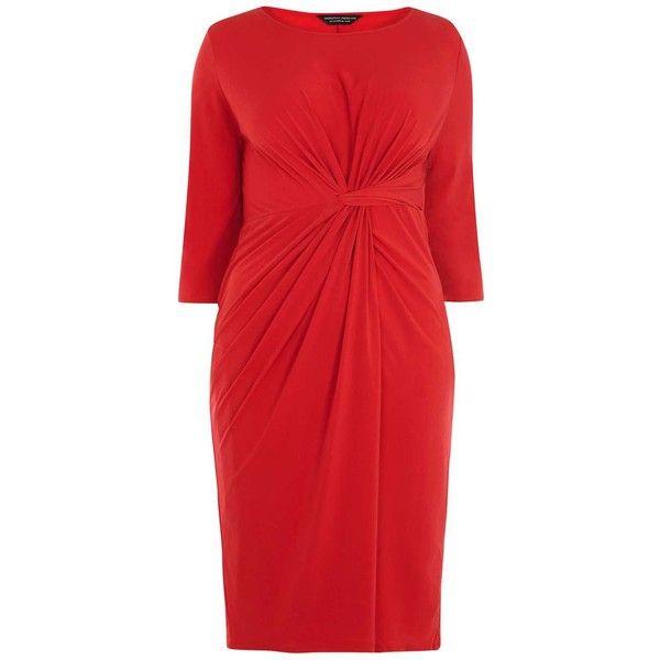 Dress39 Dorothy Knot Front Perkinsdp Red Curve 0w8XnOkP