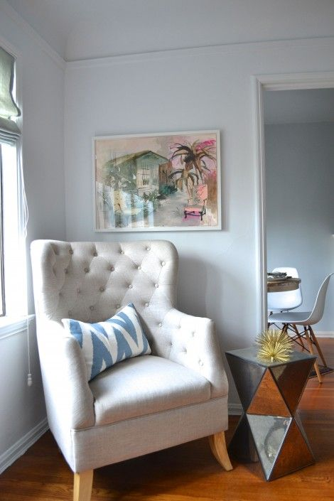 Charmant Faceted Mirror Side Table From West Elm Via @Brian Paquette
