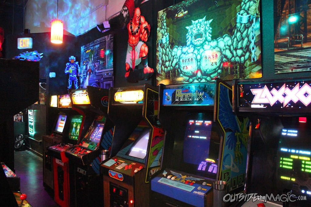 Orlando Florida there's a classic arcade called Player1