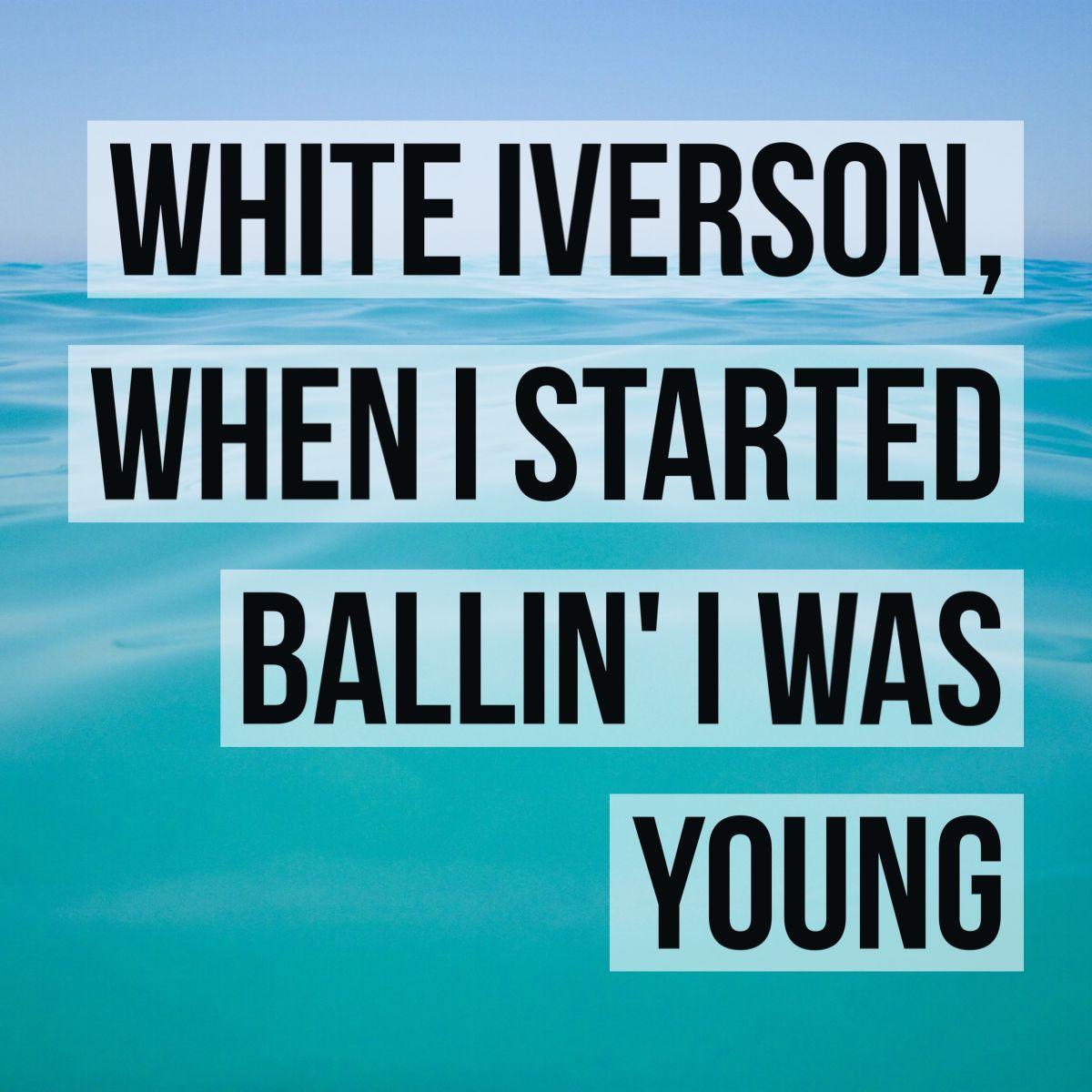 Post Malone Lyrics: Post Malone White Iverson