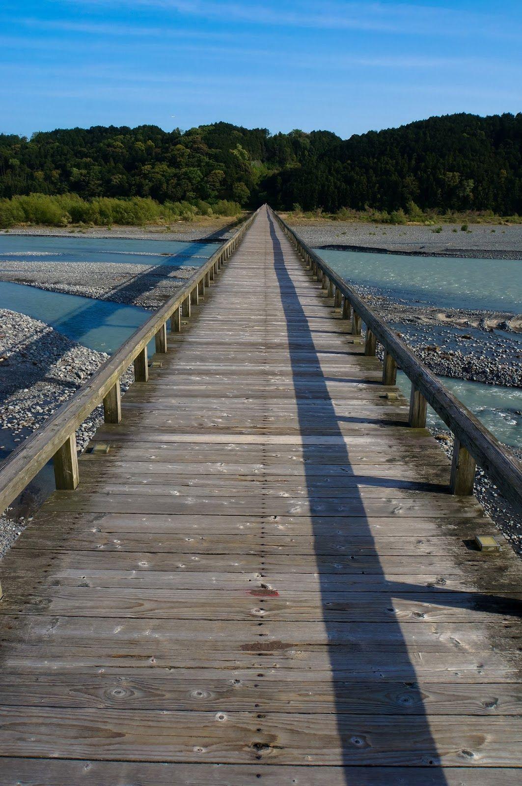 Horai-bashi bridge: The longest wooden constructed pedestrian bridge in the world