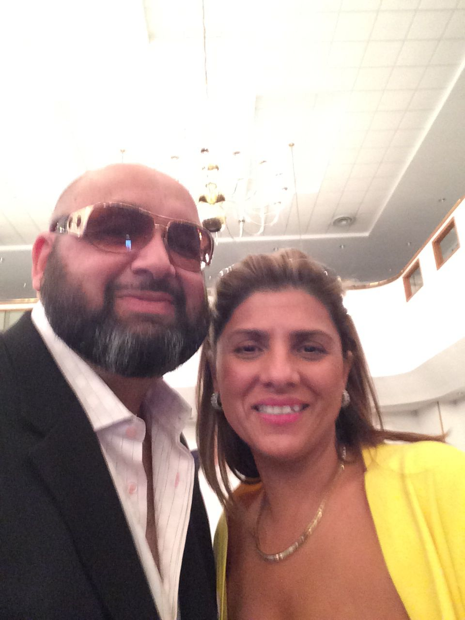 A selfie with my friend Michelle at church!