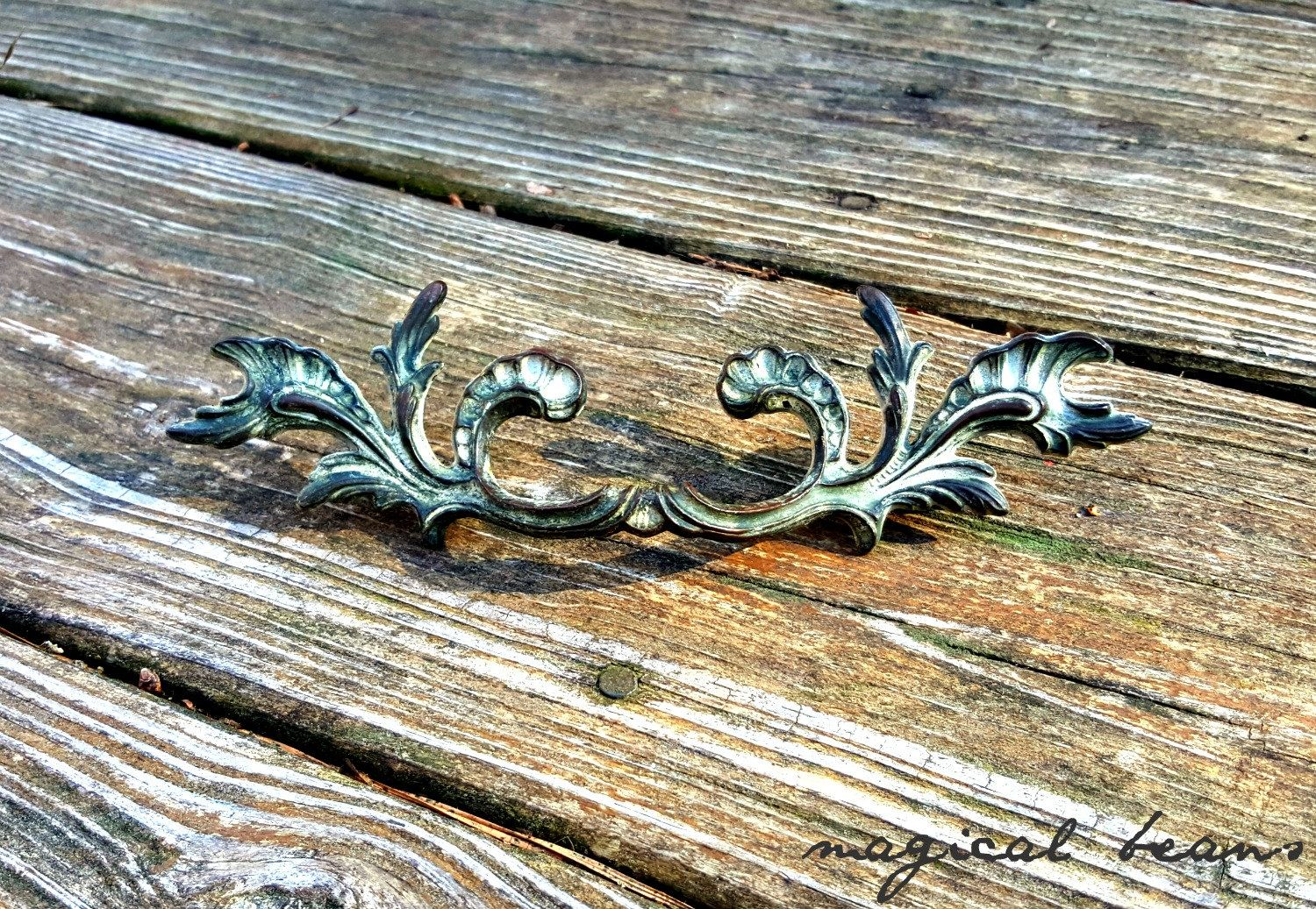 Antique Drawer Pulls Kbc French Provincial Dresser S Country Br Shabby Farmhouse By Magicalbeanshome