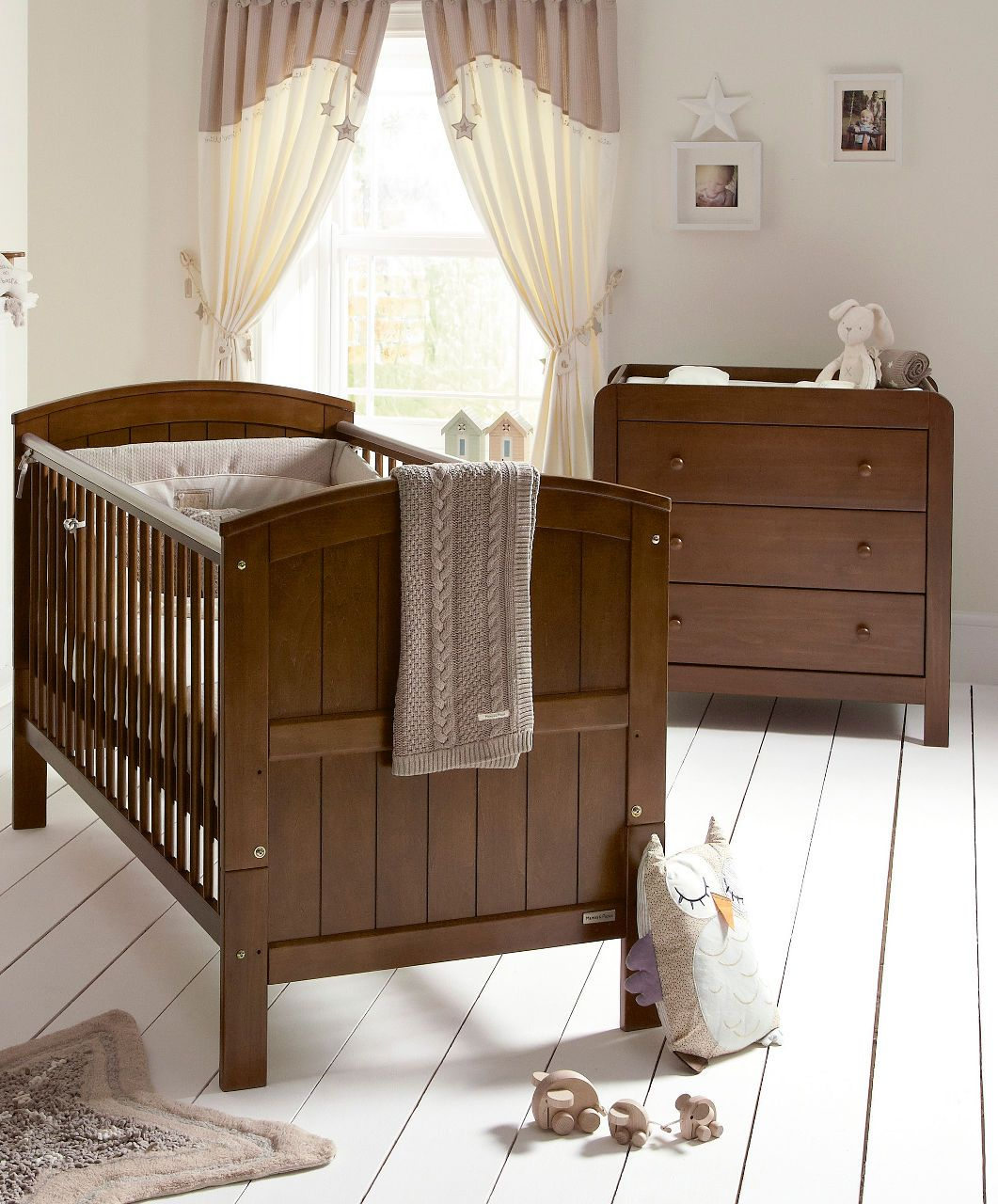 Hayworth 2 Piece Set Walnut Sale Mamas Papas Nursery
