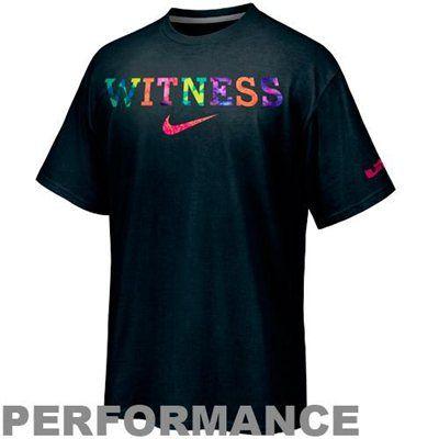 f744cec61 Nike LeBron James Witness Performance T-Shirt   NBA Gear   Nike air ...