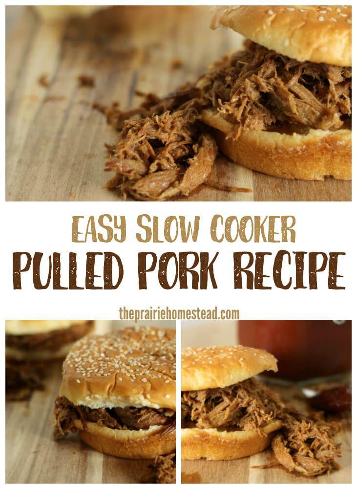 Slow cooker pulled pork recipe pulled pork recipe slow