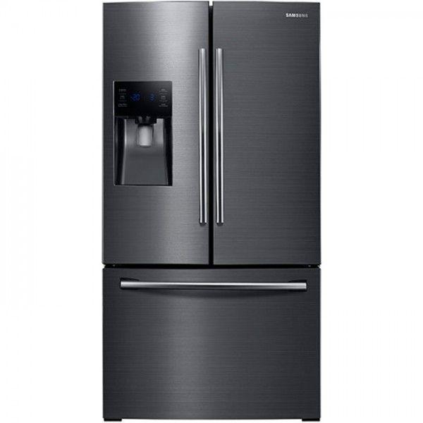 Samsung 246 Cu Ft Black Stainless Steel French Door Refrigerator