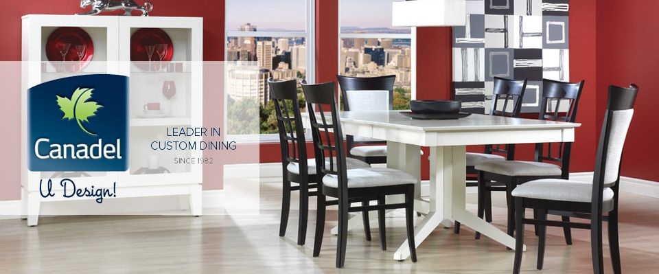 Canadel Custom Dining Furniture at Dunk & Bright Furniture ...