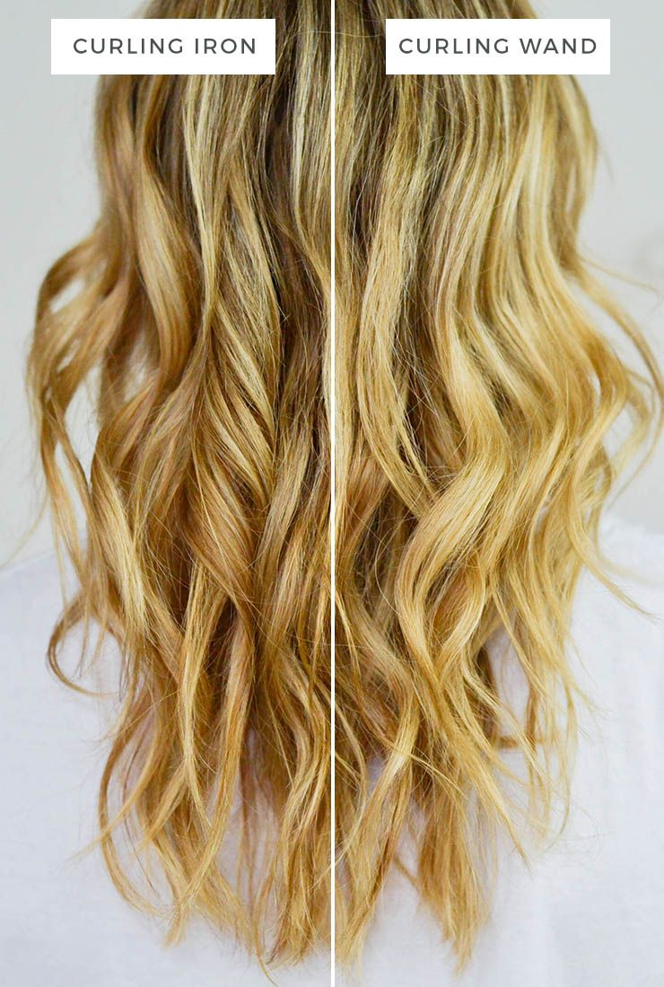 curling iron vs. curling wand | beauty | hair dos | curling