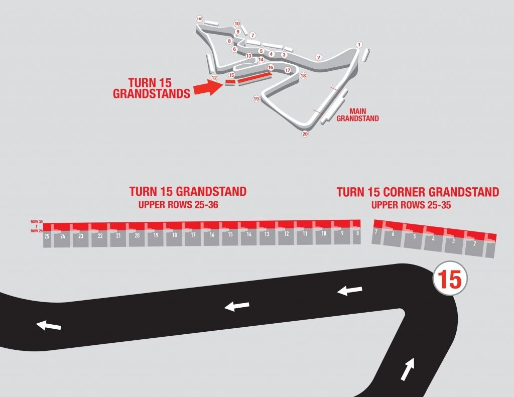 The Amazing as well as Attractive circuit of the americas seating chartPinterest