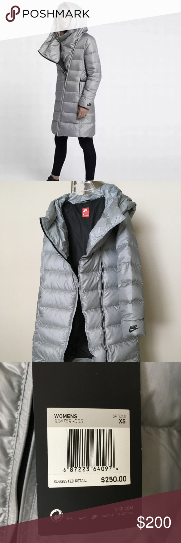 b30f22b4b6 Nike Women s Down Fill Parka Jacket XS New Nike Sportswear Women s Down  Fill Parka Jacket Size XS. The size says XS