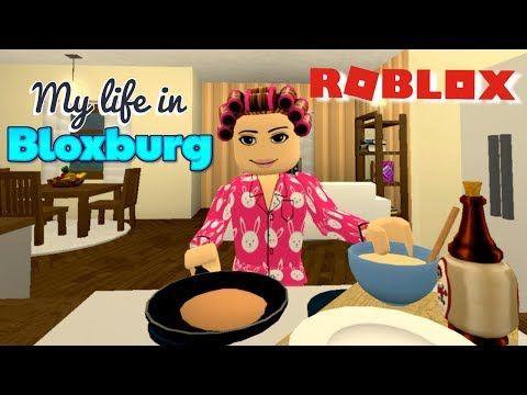 Bloxburg Day Routine Grocery Shopping Hair Salon Job Roblox