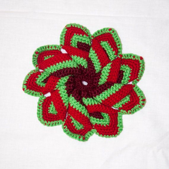 Flower Coaster By Sharbatknittery On Etsy Haken Pinterest