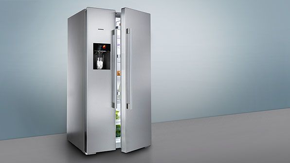 siemens side by refrigerators fridge freezer ka60na45