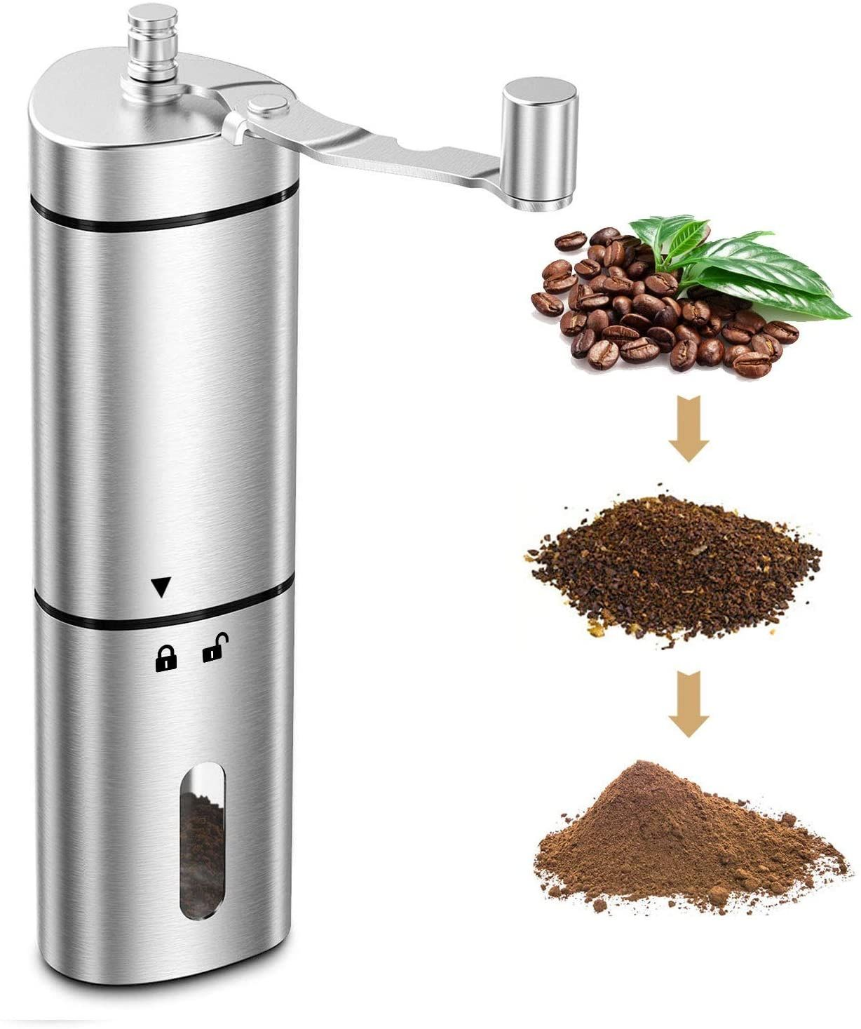 Price20.99 Best Comsoon Manual Coffee Grinder, Portable