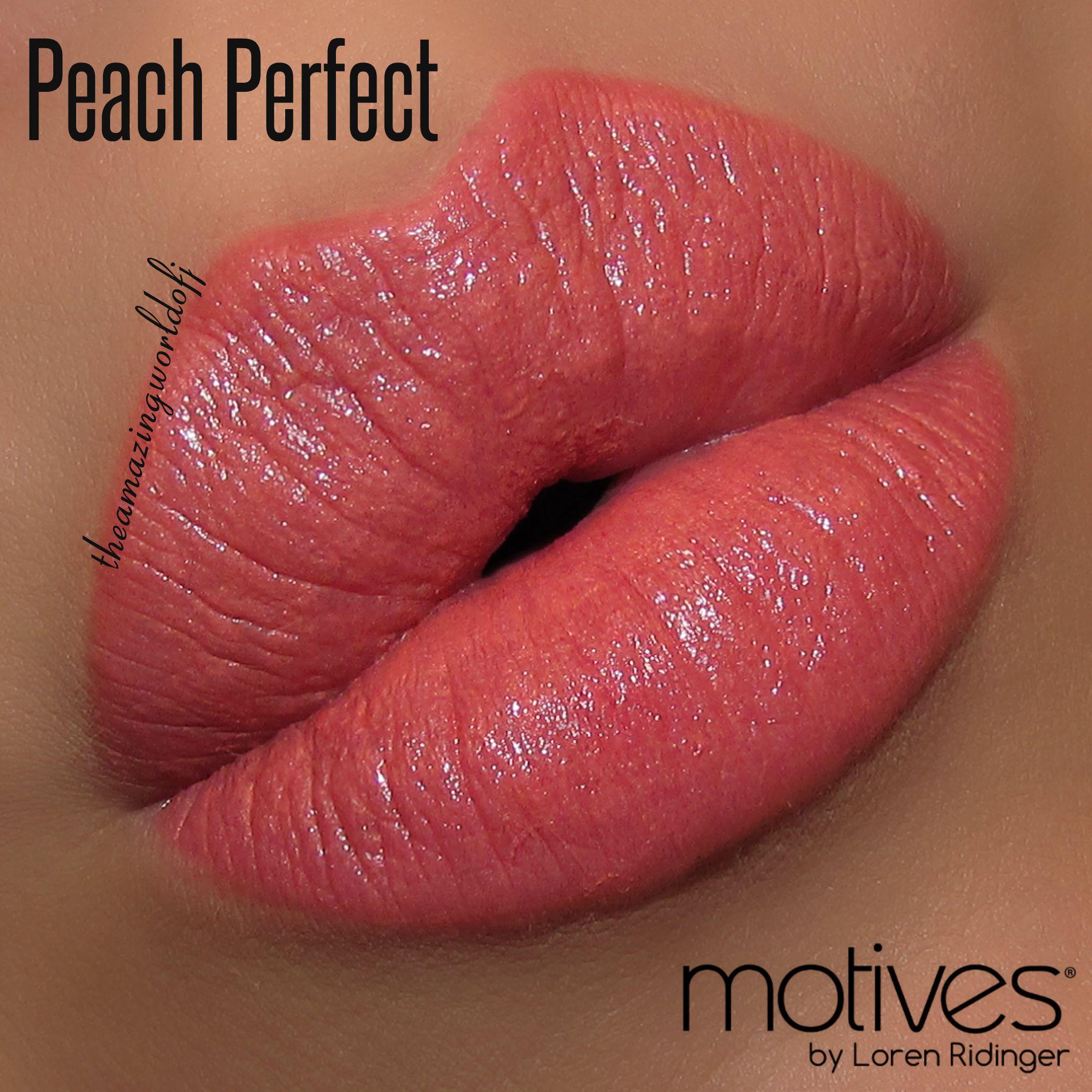 Motives Moisture Rich Lipstick in Peach Perfect. So many