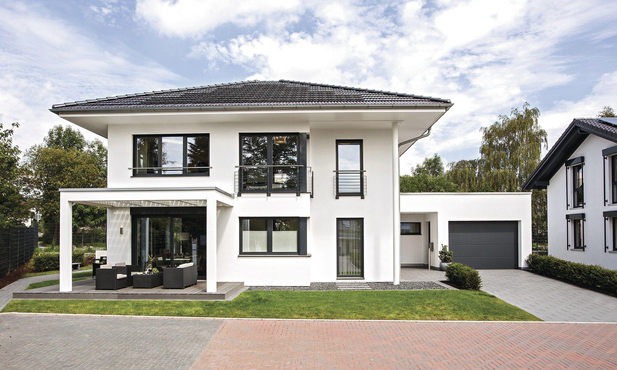Haus Walmdach Modern Wohn Design