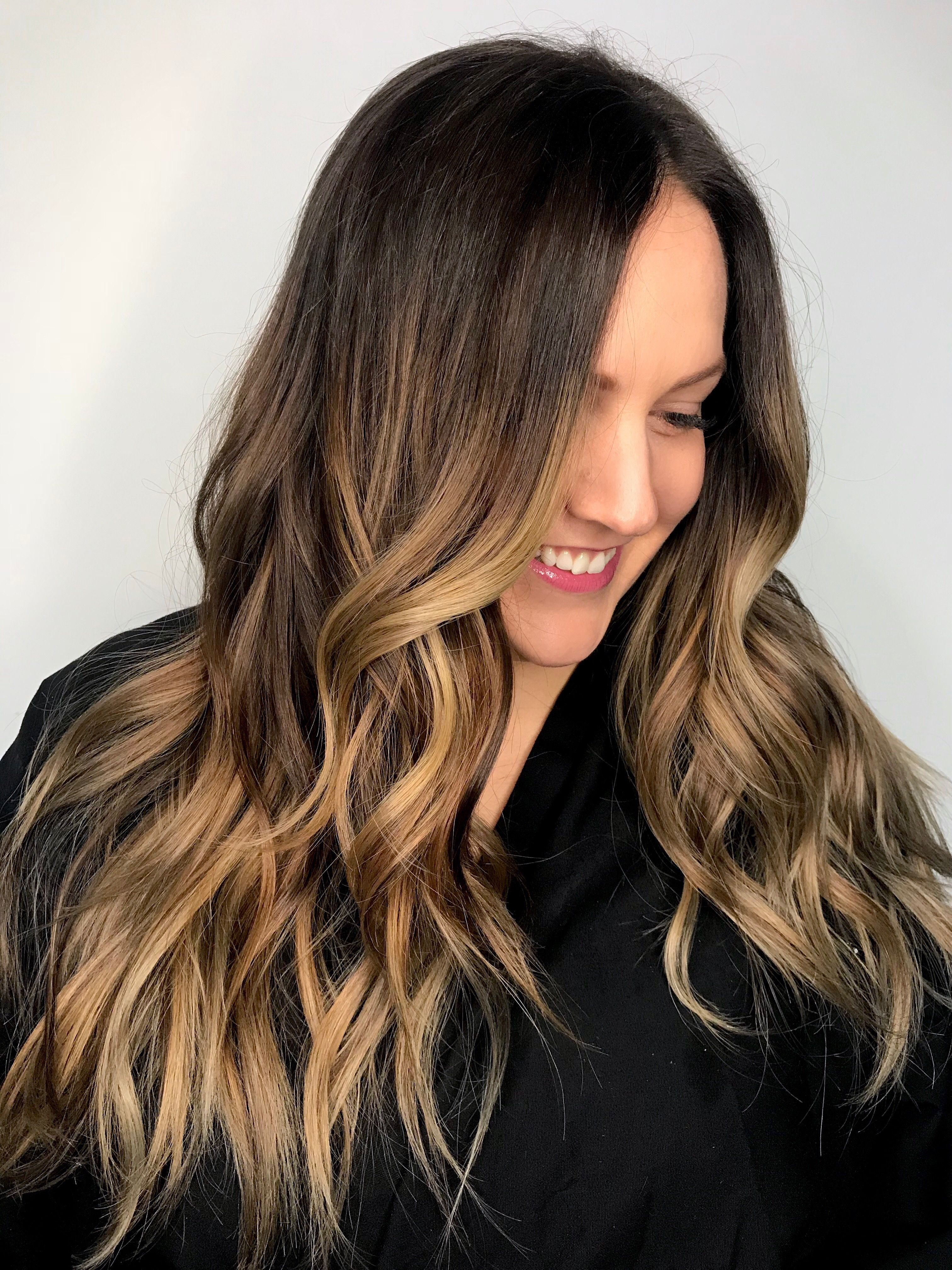 Brunette Balayage Bronde Hair Hair Color 2018 By Bethconlin
