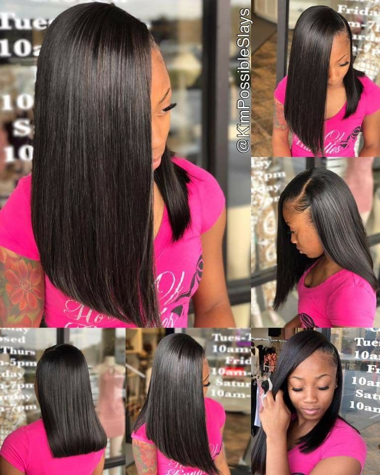 To See More Follow Kiki Slim Straight Hairstyles Girl