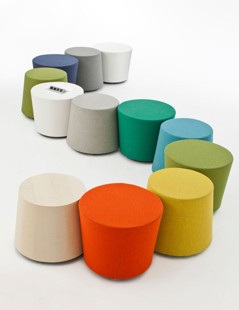 Top Colorful Ottomans In 2019 Library Table Bench