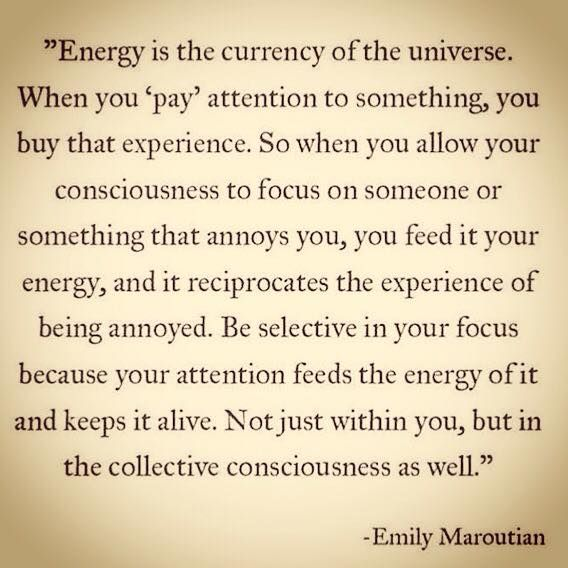Energia je mena Univerza