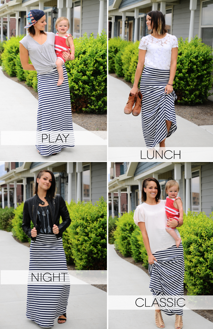 8b131b6923 4 fun ideas for styling your  LuLaRoe  Maxi Skirt! Now that you have  inspiration