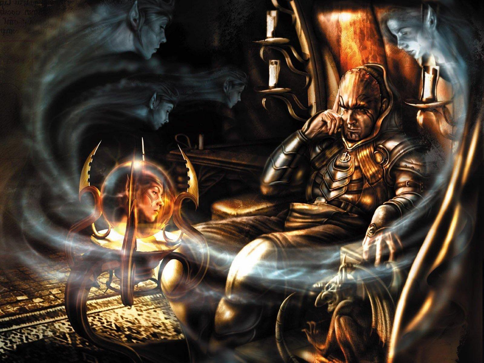 Google Image Result For Http Www Fantasy Wallpapers Com Wallpapers Fantasy Magic Soul Game 1600x1200 Jpg Baldur S Gate Forgotten Realms Baldur S Gate 2