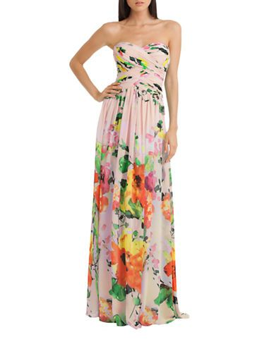 Brands | Formal/Evening | Floral Print Strapless Gown | Lord And Taylor.  Dress For WeddingWedding ...