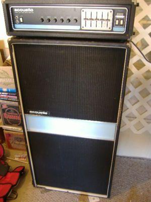 Vintage Acoustic Amplifiers Vintage Acoustic 450 301 Bass Amp Guitar Amplifier Look Vintage Bass Amps Guitar Amp Acoustic Bass